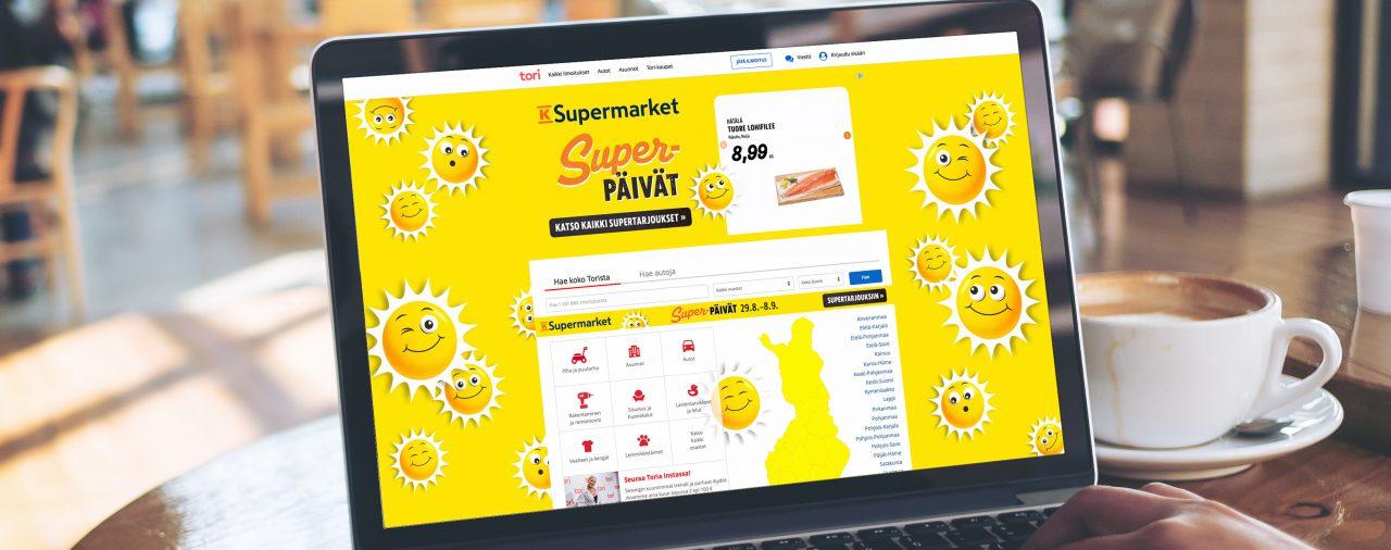 Syksyn Superpäivät - Digitaalista tukea Keskon kampanjointiin
