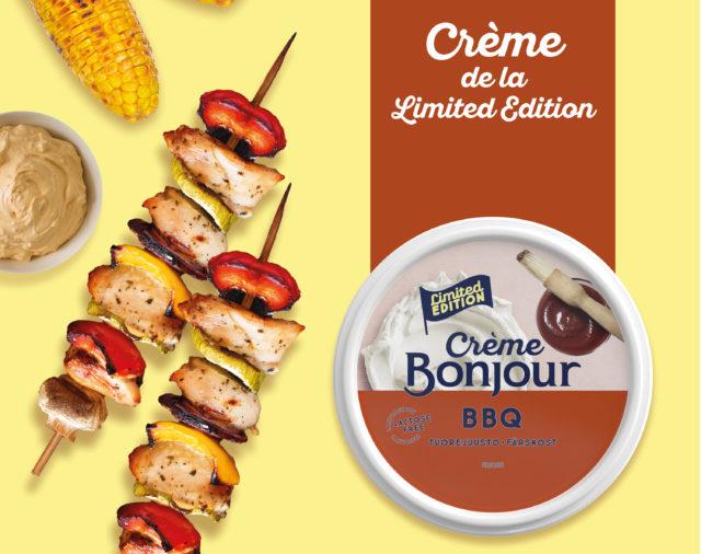 Crème de la Limited Edition - uuden tuorejuuston markkinointimateriaalit